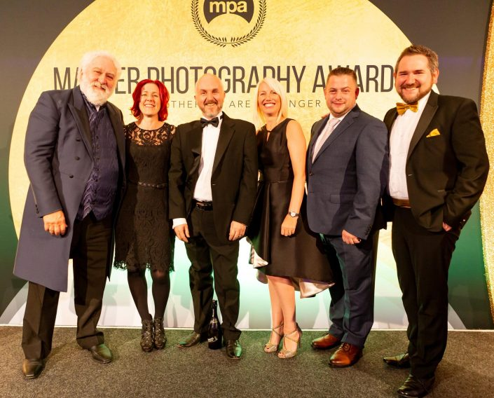 presenting the Master Photography Awards 2019 - Jamie Morgan and Karen Massey
