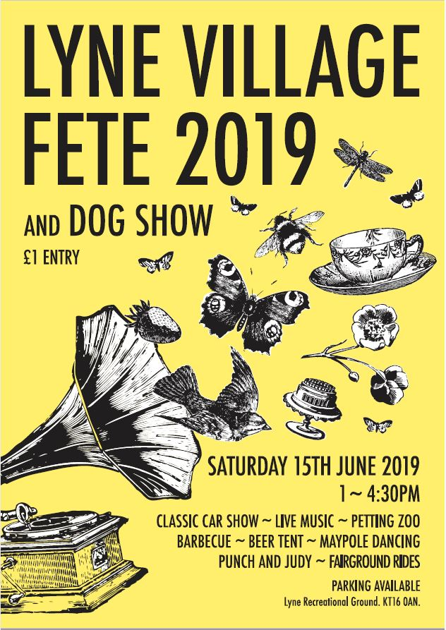 Lyne Village Fete - 15th June 2019